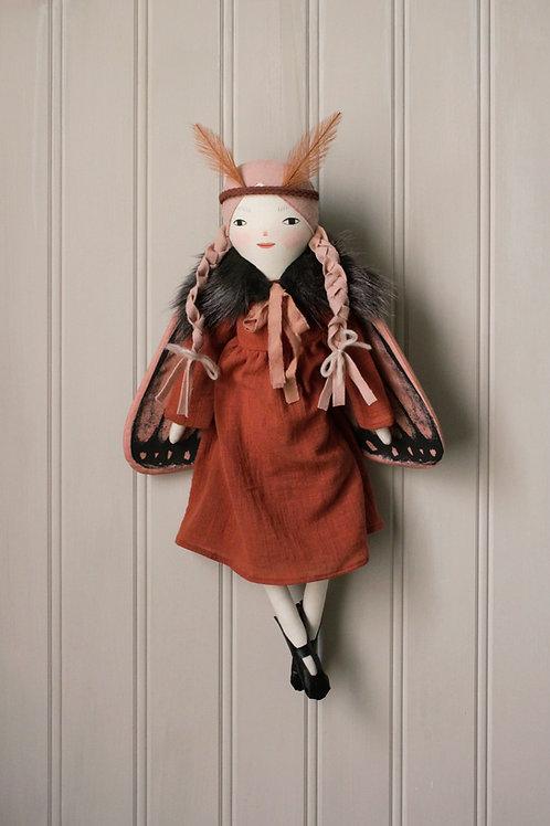 Luna Moth Art Doll