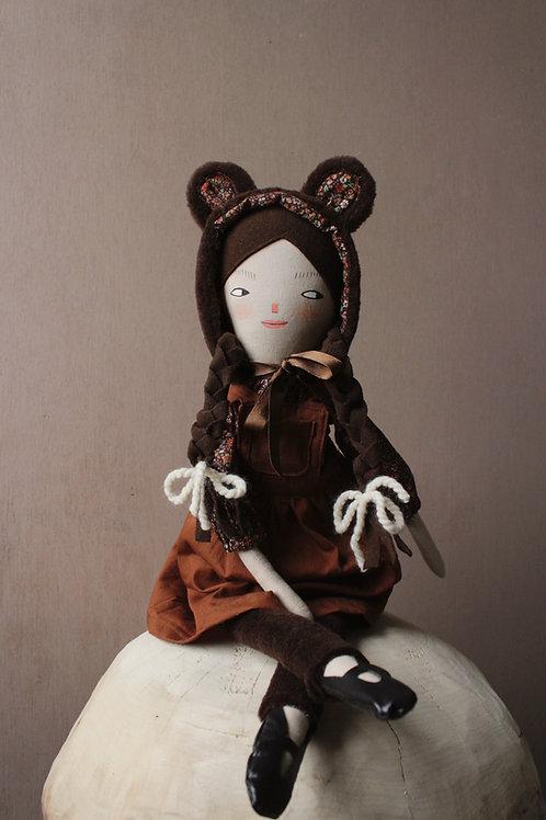 Minerva Bear - midi size doll