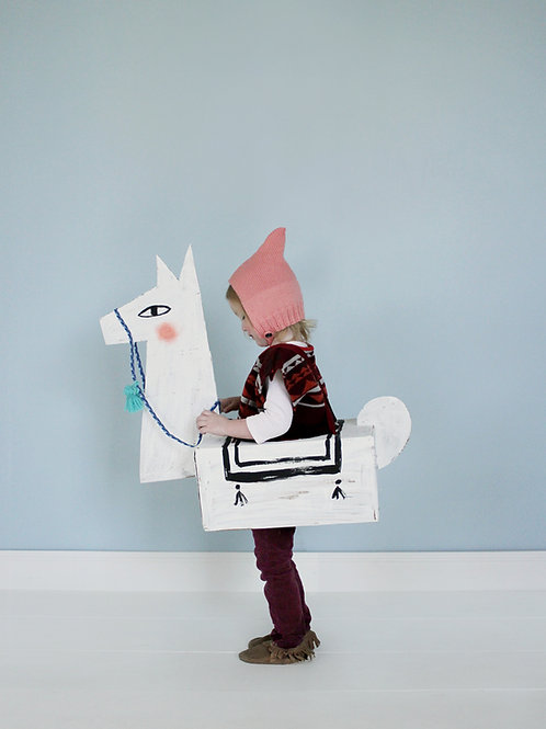 Llama Costume Templates and Instrux
