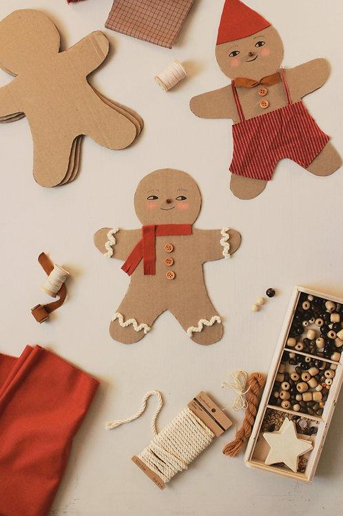 Gingerbread Man Template