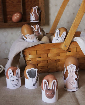 Easter Egg Holders Printable