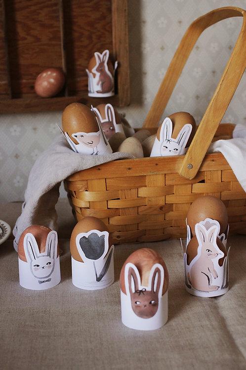 Easter Egg Holders Printable