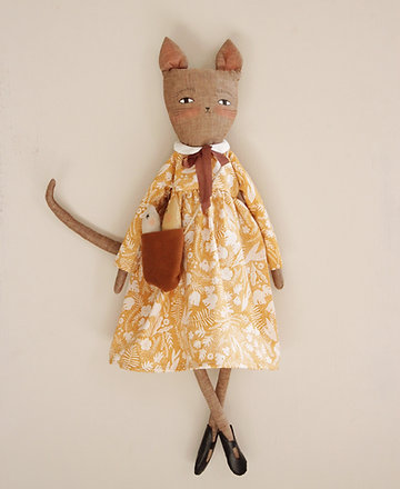 Wilhelmina Kitty Cat Doll