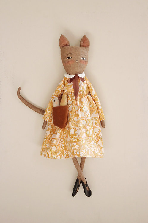 Wilhelmina Kitty Cat Doll