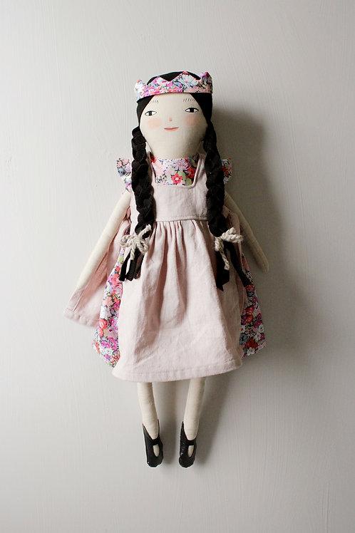 Plum - midi size doll
