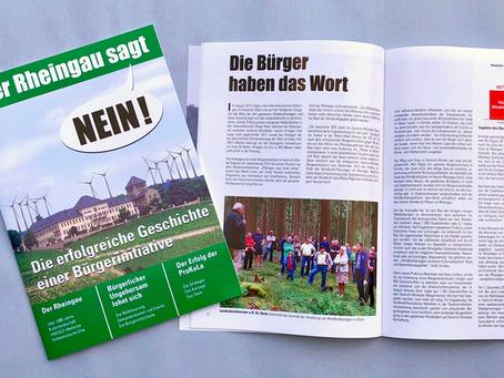 Großer Erfolg der Zeitschrift Der Rheingau sagt: NEIN! - im Buchhandel erhätlich
