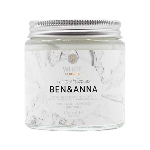 Ben & Anna White toothpaste with Fluoride