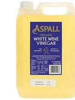 Aspall Organic White Wine Vinegar, for refill (500ml)