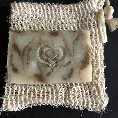 Soap & Exfoliate: Soap and Pouch