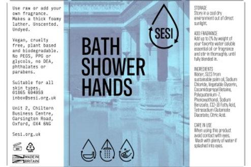 Bath, Shower, Hands soap