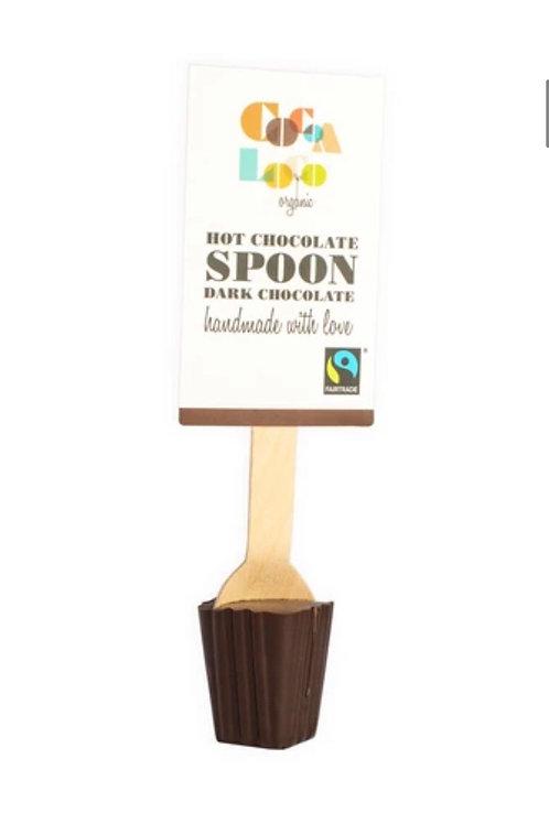 Hot choc spoon (55% dark)