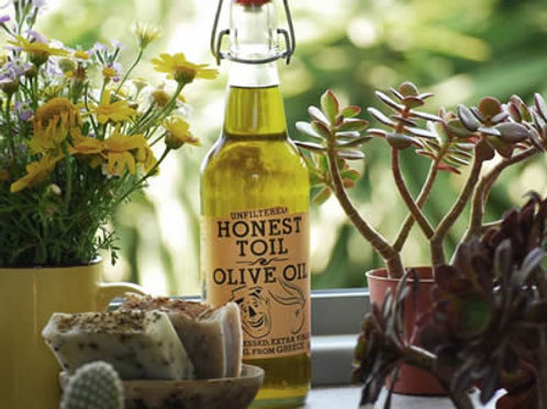 Honest Toil Organic Greek Olive Oil to refill