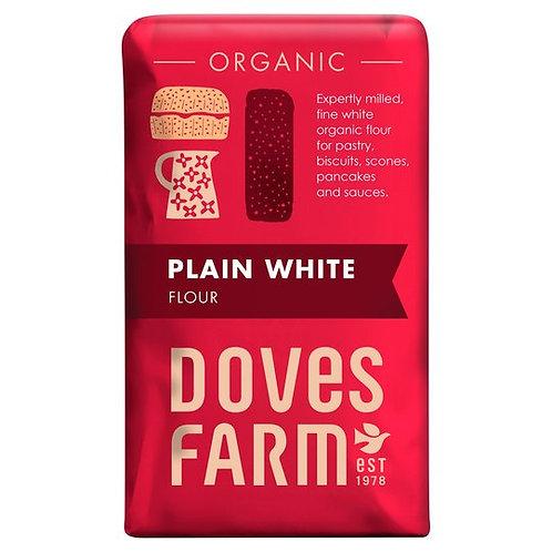 Doves Farm Organic Plain White Flour (1kg)