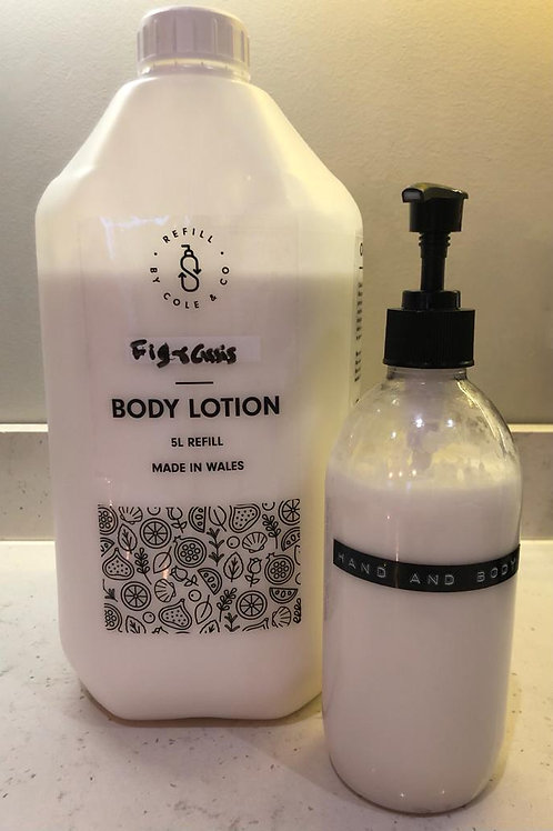 Cole & Co Hand & Body Lotion: Fig & Cassis