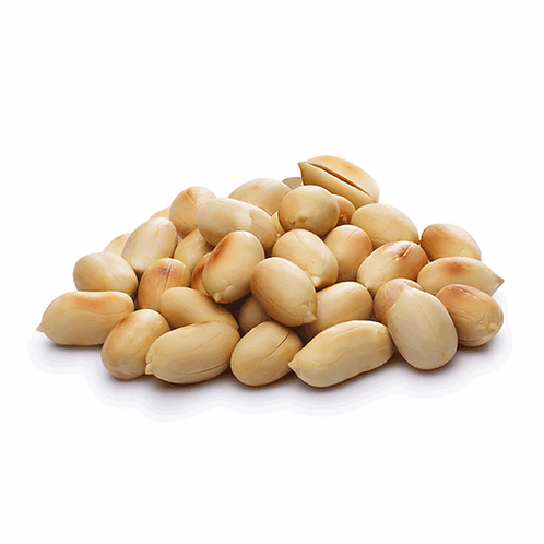 Organic Blanched Roasted Peanuts (250g)
