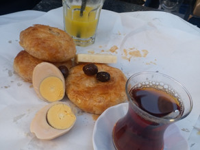 Boyoz a Turkish Pastry from the Eagean Region