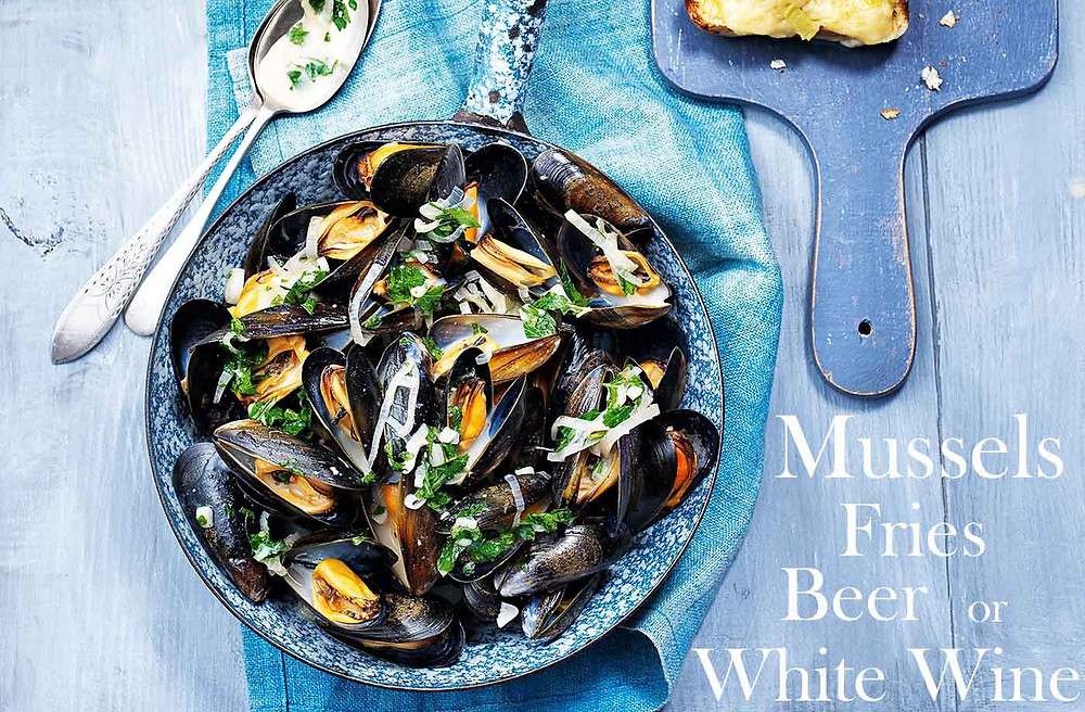 Mussels prepared with White Wine