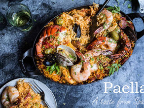 Paella, Spains famous traditional dish