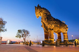 The famous Horse of Troia