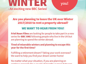 ESCAPE FOR THE WINTER - An exciting new BBC Series