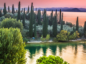 One of the most visited lakes of Europe is the Garda Lake in Italy