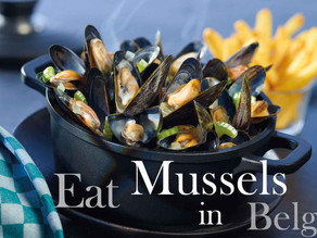 Mussels Dishes - Specialty of Belgium