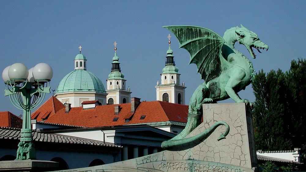 Dragon city Ljublyana