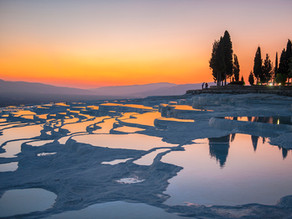 Hierapolis, the famous white Cotton Castle as the Therapy and Healing center of the Romans known as
