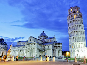 Italy's Leaning Tower of Pisa Italy