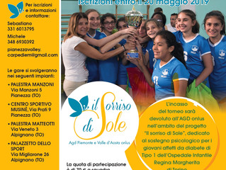 "2° Torneo Pianezza Volley Carpe Diem ""Memorial Maria Sole"""