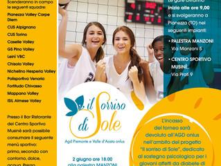 "1° Torneo Pianezza Volley Carpe Diem  Memorial ""Maria Sole Barbieri"""