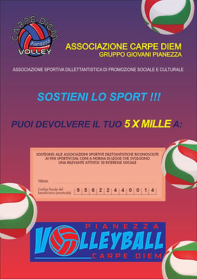 PianezzaVolley 5xmille