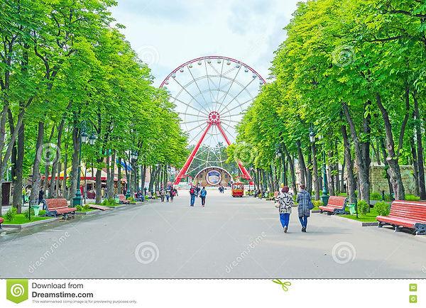 central-alley-gorky-park-kharkov-ukraine