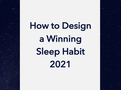 How to Win in 2021: design the ideal New Year's resolution