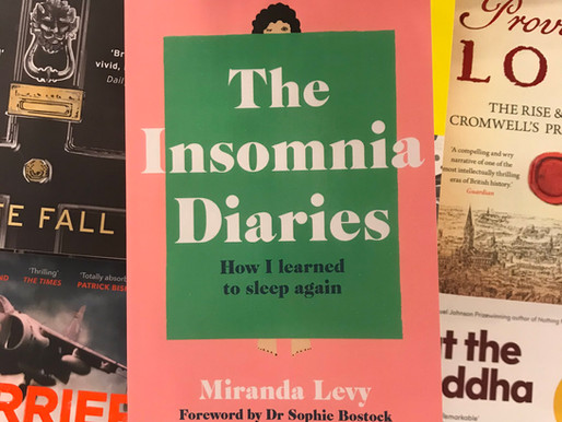 The Insomnia Diaries, by Miranda Levy