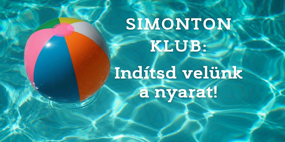 Simonton Klub- Összehangolva   Aktuális témánk: Indítsd velünk a nyarat!
