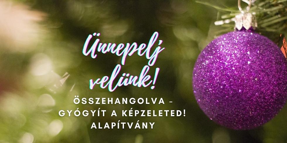 Ünnepelj velünk! – Karácsony az Összehangolva Alapítvánnyal