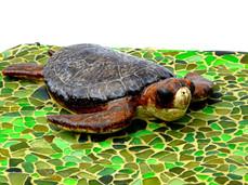 Sea Turtle Table (detail)
