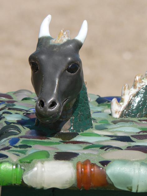 Sea Dragon table (detail)