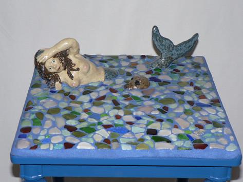 Mermaid table (detail)