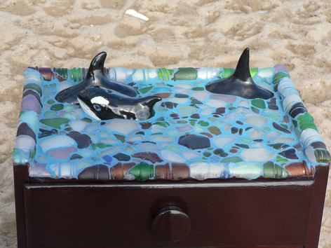 Orca table  (detail)