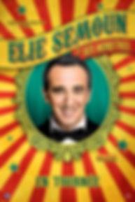 Elie Semoun - Affiche 40x60 - sans logos