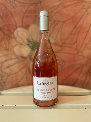 La Nerthe Les Cassagnes Cotes du Rhone Rose 2020