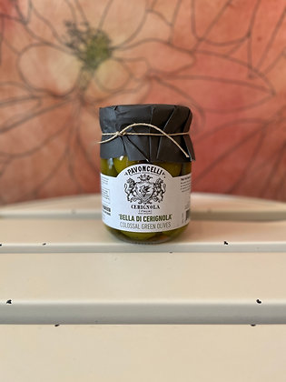 """Pavoncelli """"Bella di Cerignola"""" Colossal Green Olives"""