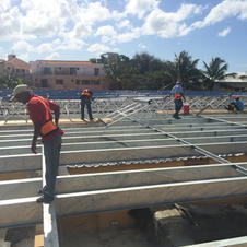 Solar Support Install