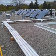 Solar thermal Installatio by North Ameri