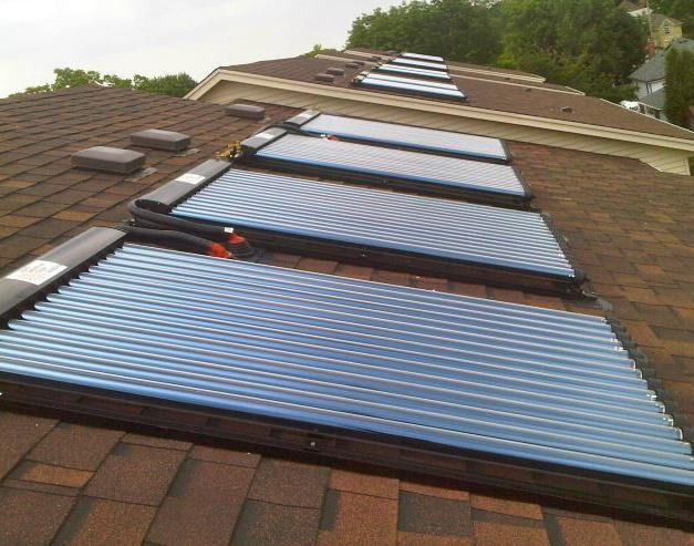 Solar Thermal Installation by North Amer