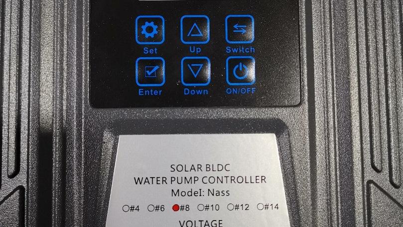 Solar DC Pump Controller