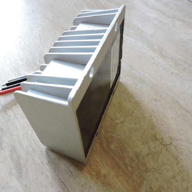Back view step up converter 24 to 48 vol