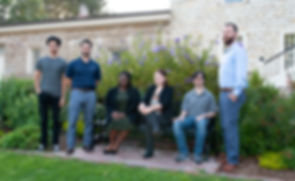 Left to Right: Jesse Muro, Justin Loza, Amber Clark, Anna Phillips, Brian Hughes, Mattew Salyer